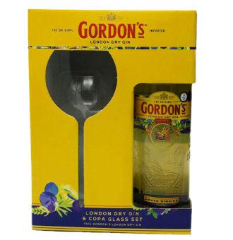 gordons gin + glass